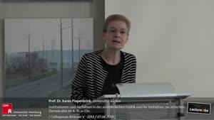 Thumbnail - Institutionen und Verfahren in der aristotelischen Politik und ihr Verhältnis zum politischen Denken der attischen Demokratie des 4. Jh. v. Chr.