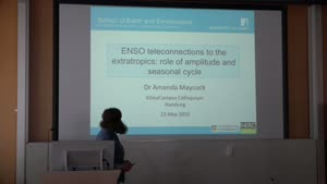 Thumbnail - ENSO teleconnections to the extratropics: role of El Niño amplitude and seasonal cycle
