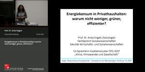Vorschaubild - Energiekonsum in Privathaushalten: warum nicht weniger, grüner, effizienter?