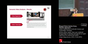 Thumbnail - All the viewer needs: How user-centered design helps to develop and operate an open repository for audiovisual media