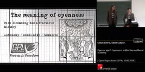 Thumbnail - Open or ajar?: 'openness' within the neoliberal academy