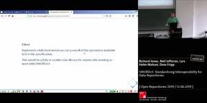 Thumbnail - SWORDv3: Standardising Interoperability for Data Repositories