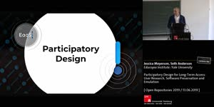 Thumbnail - Participatory Design for Long-Term Access: User Research, Software Preservation and Emulation