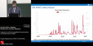 Thumbnail - Long-term archival and global dissemination of climate data at DKRZ