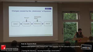 Miniaturansicht - Autonomous Systems and Criminal Law – new impulses for the concept of responsibility?