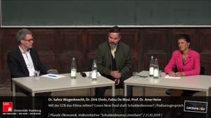 Thumbnail - Mit der EZB das Klima retten? Green New Deal statt Schuldenbremse! | Podiumsgespräch