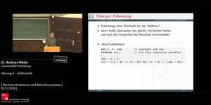 Miniaturansicht - Sitzung 6 - Arithmetik