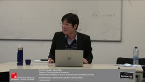 "Thumbnail - ""Contemporary Vietnamese Literature: An Overview"""