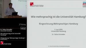 Miniaturansicht - Wie mehrsprachig ist die Universität Hamburg?
