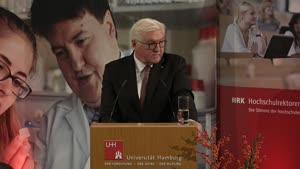 Thumbnail - Rede des Bundespräsidenten auf der HRK