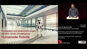 Thumbnail - Konzeption und erste Erfahrungen mit dem neuen Studiengang Humanoide Robotik