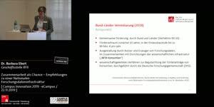 Thumbnail - Zusammenarbeit als Chance – Empfehlungen zu einer Nationalen Forschungsdateninfrastruktur