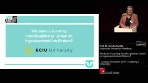 Thumbnail - Wie kann E-Learning interdisziplinäres Lernen im Ingenieursstudium fördern?