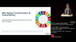 Thumbnail - Der MSc Digital Transformation & Sustainability – gelebte Themenverknüpfung im Sinne der 17 SDGs