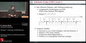 Miniaturansicht - Sitzung 11 - Codierung, Schaltfunktionen