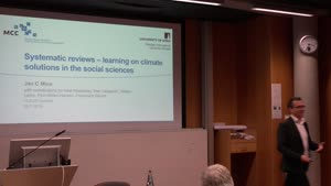 Thumbnail - Systematic reviews – learning on climate solutions in the social sciences