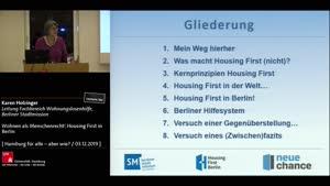 Miniaturansicht - Wohnen als Menschenrecht! Housing First in Berlin