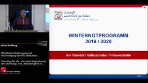 Miniaturansicht - Öffentliche Unterbringung und Winternotprogramm für obdachlose Menschen