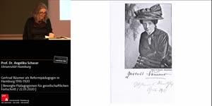 Thumbnail - Gertrud Bäumer als Reformpädagogin in Hamburg 1916-1920
