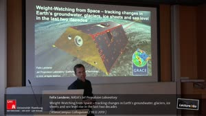 Vorschaubild - Weight-Watching from Space – tracking changes in Earth's groundwater, glaciers, ice sheets and sea level rise in the last two decades