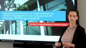 Miniaturansicht - Entwicklung eines Konzepts zur Implementation von Lehrforschungsprojekten in das Curriculum des MA Erziehungs- und Bildungswissenschaft