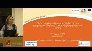 Thumbnail - Obdachlosigkeit in Hamburg - ein Fall für den Europäischen Hilfefonds? Eine Abwägung von Pro und Contra