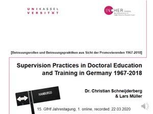 Miniaturansicht - 114 - Schneijderberg Müller 2020 Betreuungsrollen und Betreuungspraktiken - Vortrag