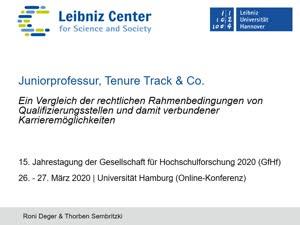 Miniaturansicht - 155 - Ein Vergleich der rechtlichen Rahmenbedingungen von  Qualifizierungsstellen und damit verbundener  Karrieremöglichkeiten - Vortrag