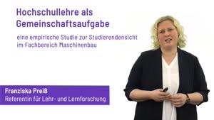 Miniaturansicht - 187 - Hochschullehre als Gemeinschaftsaufgabe - Vortrag