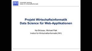 Miniaturansicht - Einführung Projekt Wirtschaftsinformatik