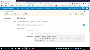 "Miniaturansicht - OpenOLAT: Baustein ""Forum"""
