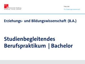 Thumbnail - Einführung in das Berufspraktikum im Bachelor Erziehungs- und Bildungswissenschaft