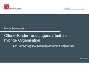 Thumbnail - Offene Kinder- und Jugendarbeit als hybride Organisation