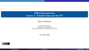Miniaturansicht - Lecture 2: Smooth maps and the IFT