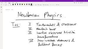 Thumbnail - Recap: Newtonian Mechanics