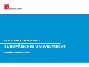 Thumbnail - Europäisches Umweltrecht V (Wasserrecht)