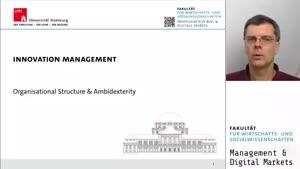Miniaturansicht - Organization Structure & Ambidexterity
