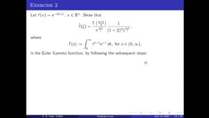 Thumbnail - Exercise class: Harmonic Analysis/PDEs, Lecture 5, Part 2