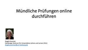 Thumbnail - Mündliche Prüfungen online durchführen