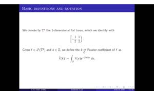Thumbnail - Exercise class: Harmonic Analysis/PDEs, Lecture 8, Part 2
