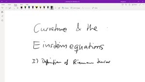 Thumbnail - Curvature and the Einstein equations