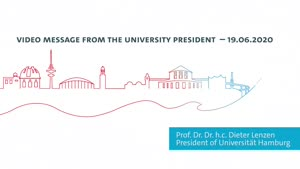 Miniaturansicht - Video Message from the University President on the Current Coronavirus Situation