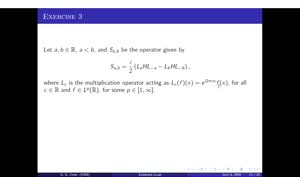 Thumbnail - Exercise class: Harmonic Analysis/PDEs, Lecture 11, Part 3