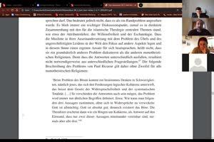 Thumbnail - 11. Sitzung: Theologie Interkulturell (+ Theodizee)