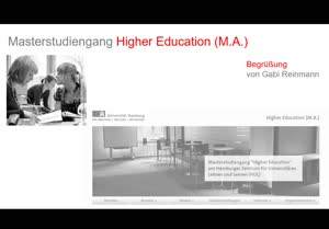 Thumbnail - Masterstudiengang Higher Education