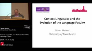 Miniaturansicht - Contact linguistics and the evolution of the language faculty