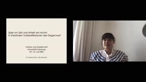Vorschaubild - Johanna Zorn: Spiel um Zeit und Arbeit am Archiv in theatralen Todesreflexionen der Gegenwart