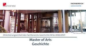 Thumbnail - Informationen zum M.A. Geschichte