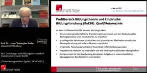 Miniaturansicht - M.A. Erziehungs- und Bildungswissenschaft Studienschwerpunkt BuEBF