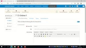 "Miniaturansicht - OpenOlat: Baustein ""Struktur"""